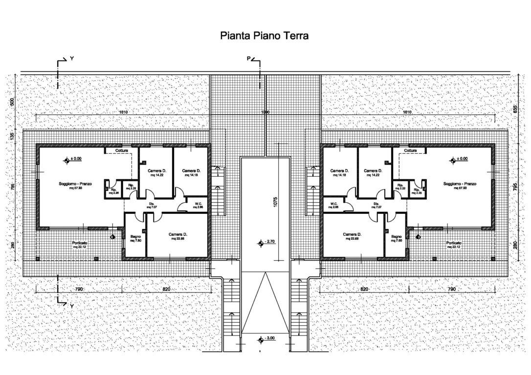 planimetrie appartamenti in vendita piombino